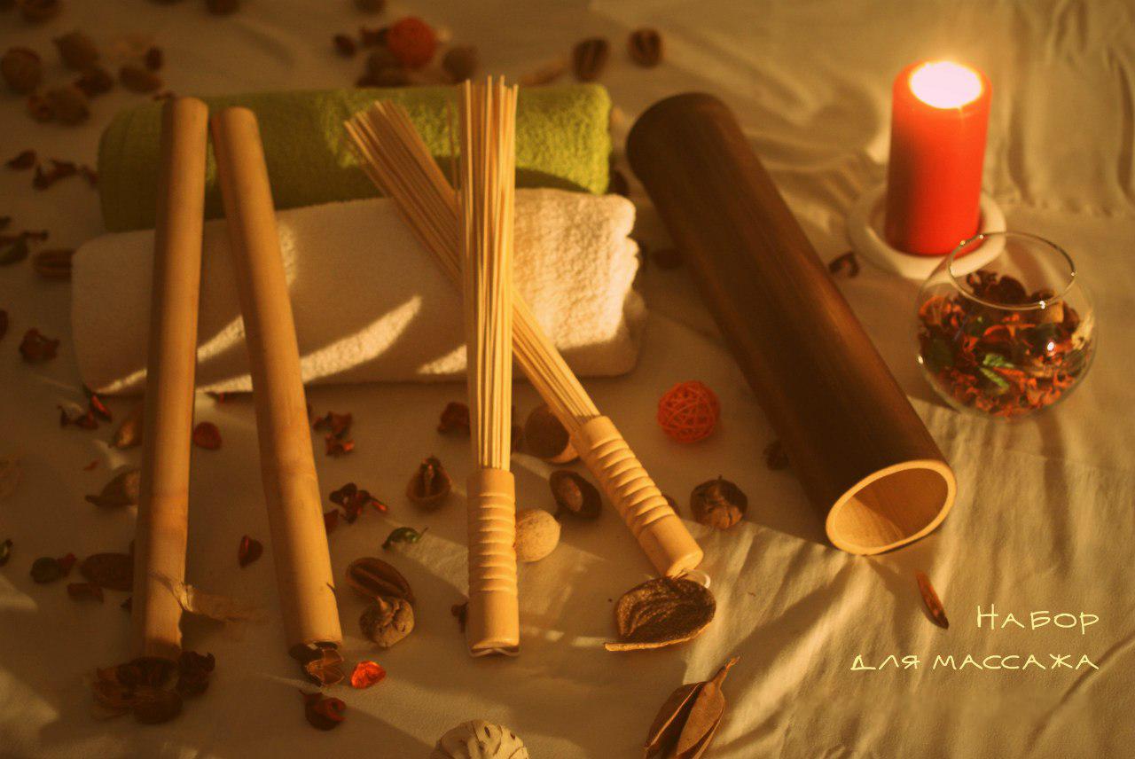 Бамбуковые палочки для массажа своими руками